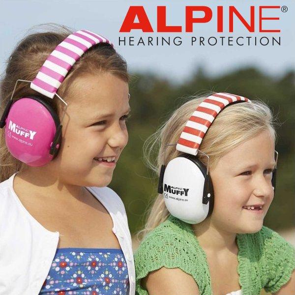 ALPINE MUFFY - Dětská izolační sluchátka.