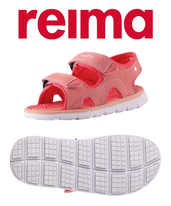 REIMA dívčí sandály Bungee růžová.