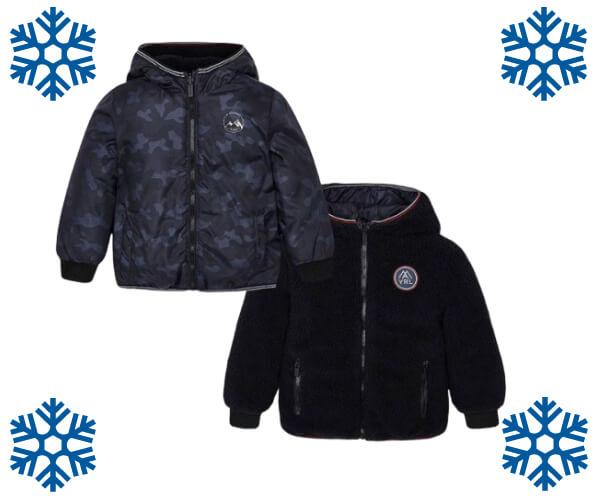 Chlapecká oboustranná bunda MAYORAL Snowthings.