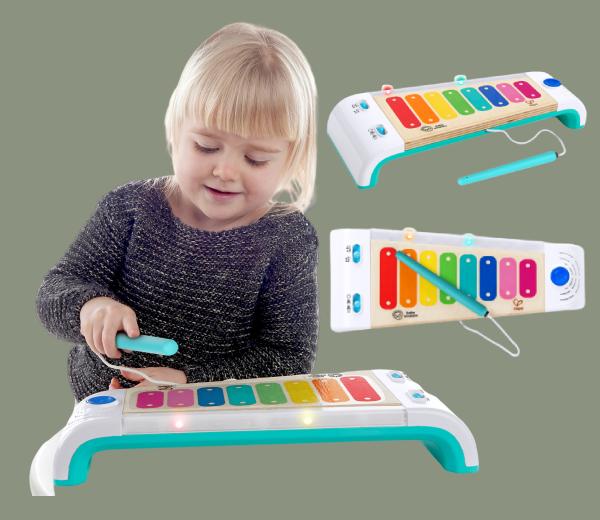 BABY EINSTEIN Dřevěný xylofon Magic Touch HAPE 12m+.