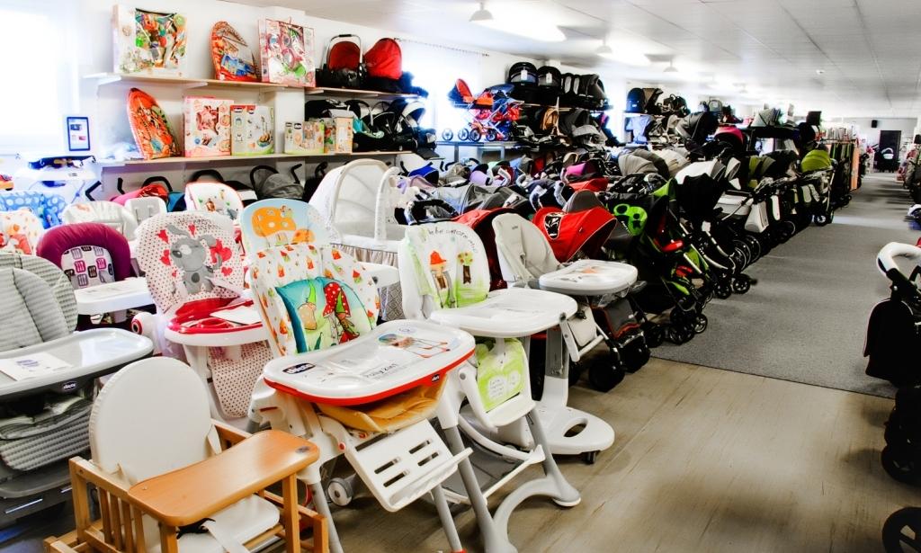 Kočárky Kalendova, židličky pro děti