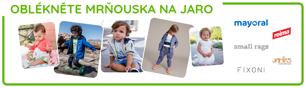 Oblékněte mrňouska na jaro s NejlepšíKočárky.cz
