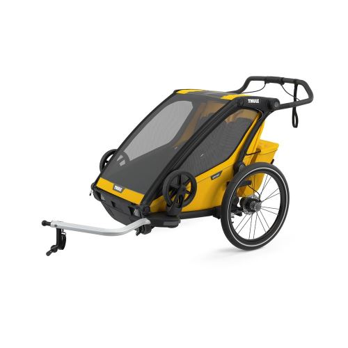 THULE Chariot Sport 2 Black/Spectra Yellow
