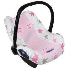 DOOKY Potah pro Seat Cover 0+ Pink Stars